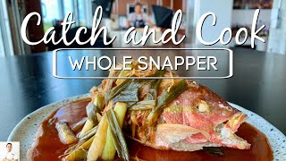 Catch and Cook | Sweet and Sour Snapper