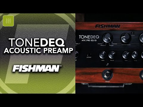 Fishman ToneDEQ - Acoustic Preamp Multi Effects EQ/DI Pedal