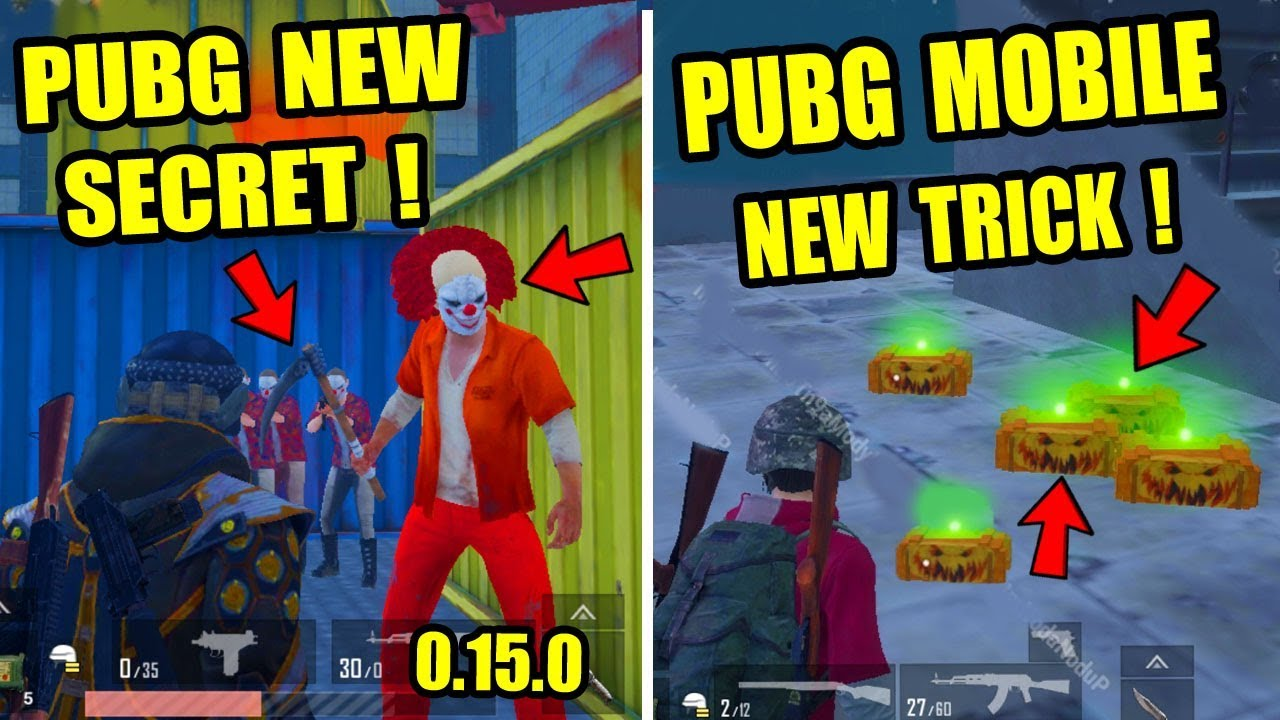 PUBG Mobile New Update 0.15.0 ? TOP 5 NEW SECRET TRICK ?