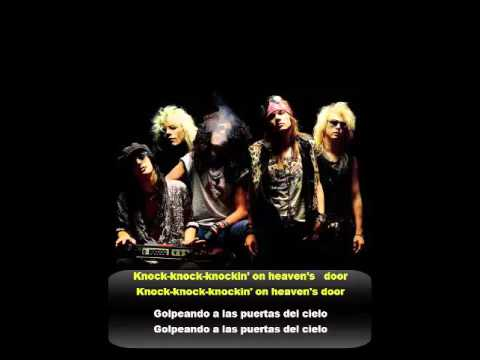 Guns And Roses Knocking On Heavens Door Subtitulado Español Ingles Youtube