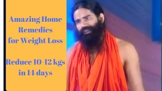 Weight Loss: Home Remedies Baba Ramdev No Diet No Exercise