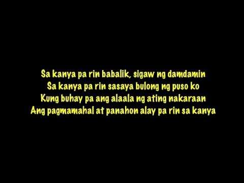 MYMP - Sa Kanya Lyrics | MetroLyrics