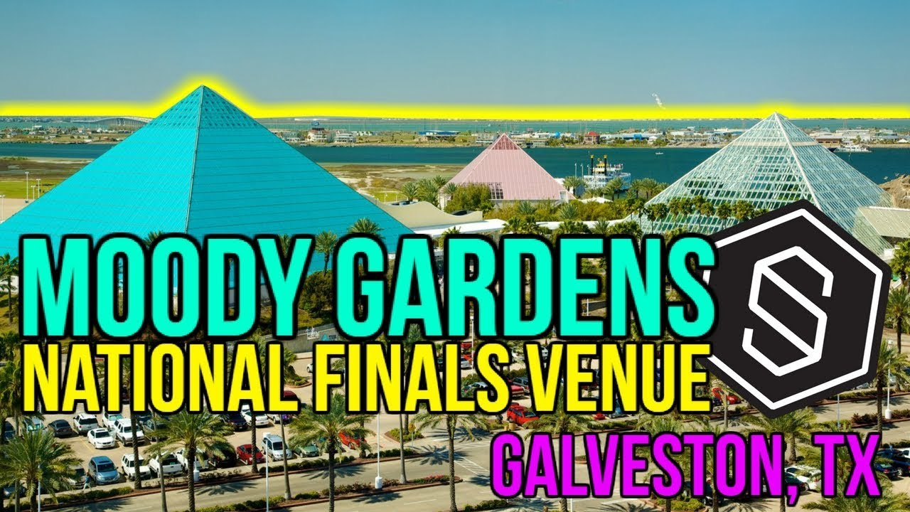 MOODY GARDENS GALVESTON TX STREETZ 2018 NATIONAL FINALS VENUE