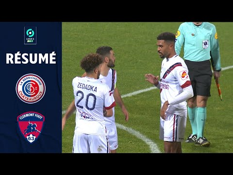 Chateauroux Clermont Goals And Highlights