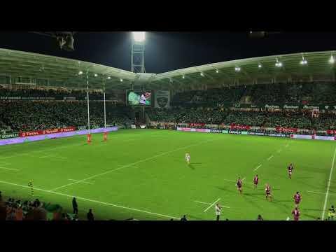 Section Paloise: la Honhada dans le nouveau stade du Hameau