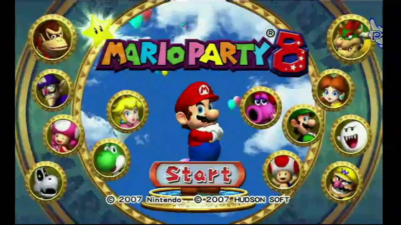 mario party 8 wii hd trailer youtube. Black Bedroom Furniture Sets. Home Design Ideas