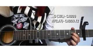 Remembering Sunday - All Time Low (Tutorial de Guitarra)