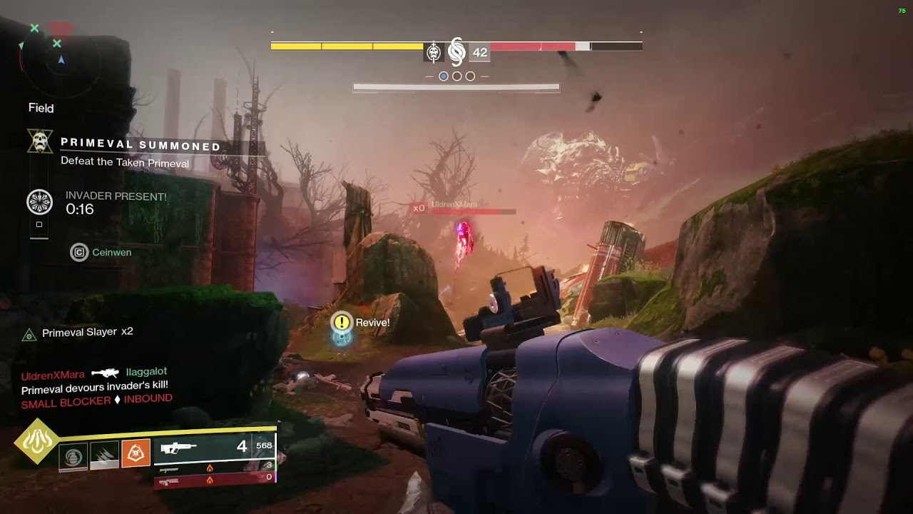 See Destiny 2's heartbreaking Ascendant Primeval meatball