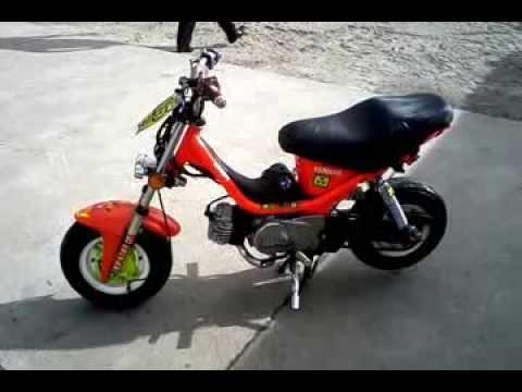 Yamaha Chappy Vs Honda Dax