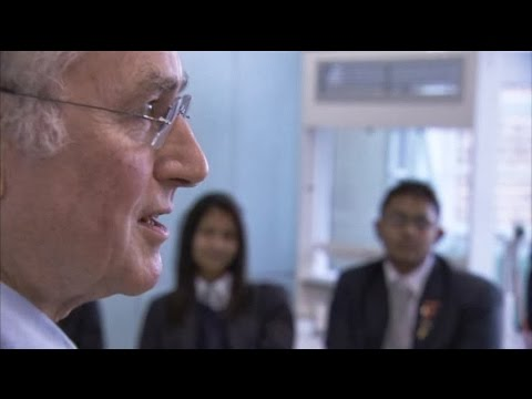 Richard Dawkins Teaching Evolution to Religious Students