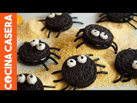 Araas de Galleta Oreo Recetas de Halloween  YouTube
