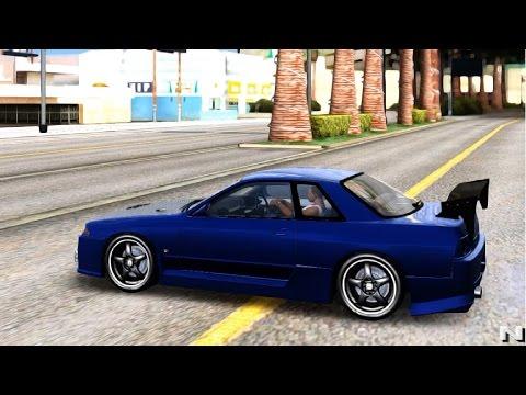 GTA San Andreas - Nissan Skyline R32 GTS T EnRoMovies