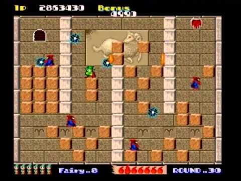 Solomon's Key - Arcade No miss - 10.647.094 pts