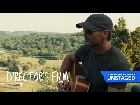 Tim McGraw & Storytelling – American Express UNSTAGED