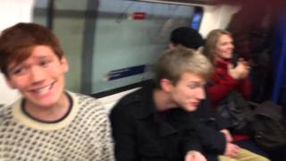 Let It Snow Christmas Flashmob (London Underground) - Out of the Blue