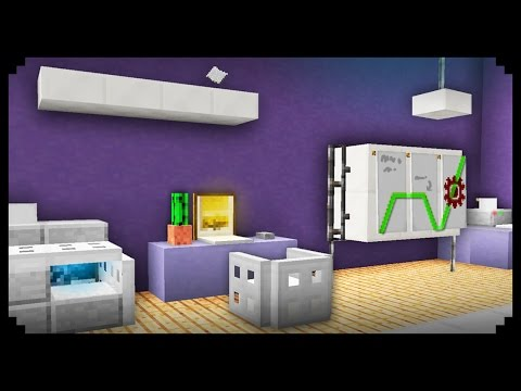 Minecraft Office Furniture Design Ideas