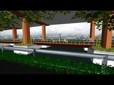 IEC Boardwalk and Cycleway (english)