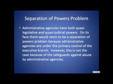 ADMINISTRATIVE LAW AND REGULATION