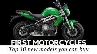 Top 12 First Motorcycles to Start A Biking Career (Buying Guide for New Riders)