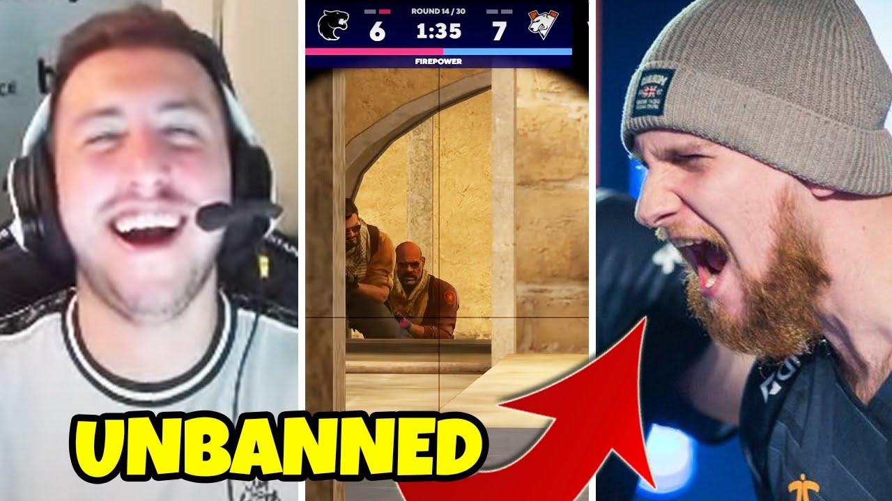 Krimz VAC UNBANNED by Valve...miss ban or not? - FUNNY & PRO CS:GO MOMENTS - Novemeber