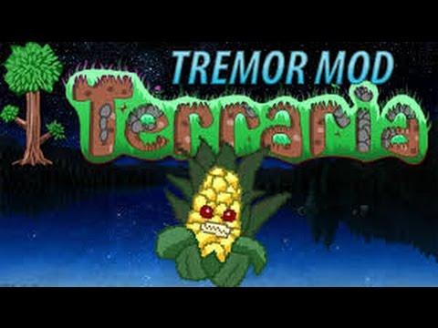 Terraria Tremor Mod Boss Fight - Evil Corn