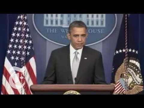 President Obama Delivers Gun Control Statement | The New York Times