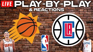 The phoenix suns hot off their win against jazz and on a 7 game winning streak head to los angeles take 3rd seeded clippers. these are two of t...