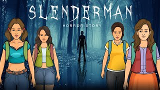 Slenderman Real Horror Story | Slenderman भूत Camera पर पकड़ा गया  |  Khooni Monday E64 🔥🔥🔥