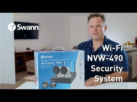 Swann NVW-490 Wi-Fi Security System: Unboxing, Review, Walk Through
