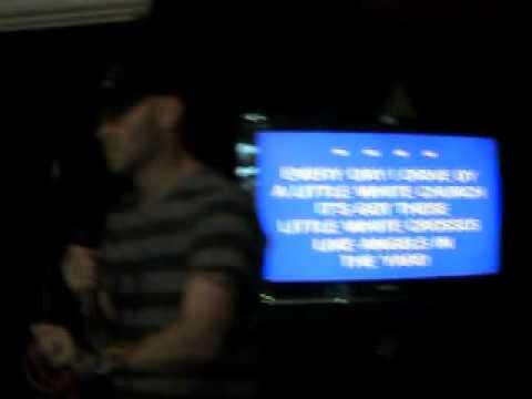 "Tony Williams singing Lady Antebellums ""Hello World"" for AJ Karaoke"