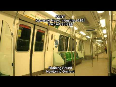 SMRT Kawasaki Heavy Industries C151 Run Sound