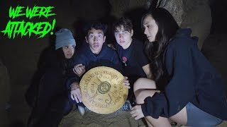 Playing Ouija Board in Haunted Cave *CHASED OUT* - Halloween Special