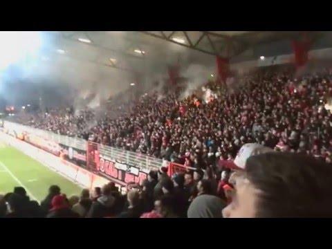 50 Jahre 1 FC Union Berlin - Pyro - Hey FC Union stürme hinaus ...