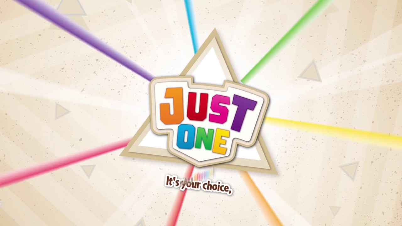 Just One - A Brand New Kind of Party Game!