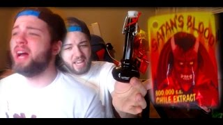 PO BOX OPENING #8 (TRYING SATAN'S BLOOD HOT SAUCE 800,000 S.U)