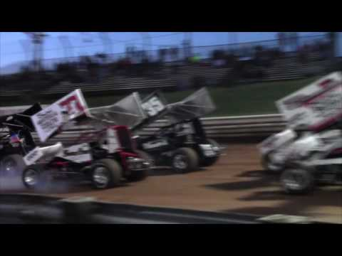 Williams Grove Speedway 410 and 358 Sprint Car Highlights 05-13-16