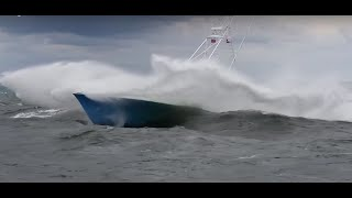 Incredible boats in rough weather thumbnail