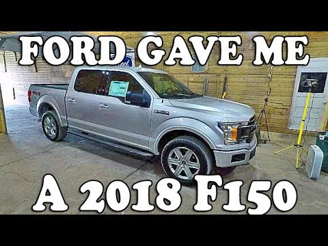 FORD GAVE Me a TRUCK!!! - 2018 Ford F150 4x4 3.5 EcoBoost