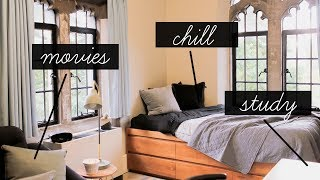 CRAZY DORM MAKEOVER FOR MOVIES + CHILL