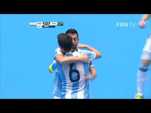 Match 21: Argentina v Solomon Islands - FIFA Futsal World Cup 2016