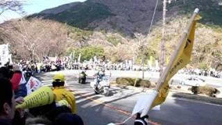 【2011年 第87回箱根駅伝】 5区 早大 猪俣を追う 東洋大 柏原 thumbnail