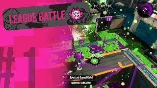 Splatoon 2 - Manta Maria Rainmaker [League Battle #1 // 30-0 E-litre]