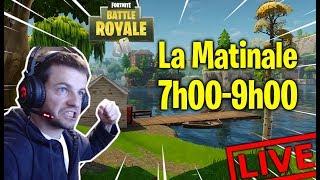 LA MATINALE 7H-9H MEME LE DIMANCHE !🥇WINS 255+ FORTNITE BATTLE ROYALE [LIVE FR FACECAM PC]