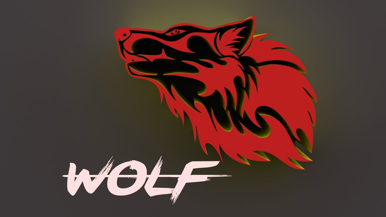 How To Design A 3d Logo In Photoshop Cs6 Wolf Logo Youtube