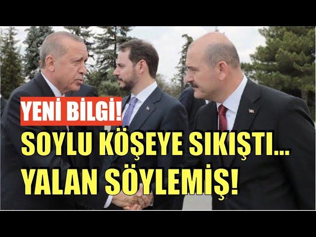 AKP'Lİ VEKİL: ERDOĞAN SOYLU'YU GÖREVDEN ALAMIYOR!