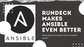 How add node to rundeck server and run a job on remote node - YouTube