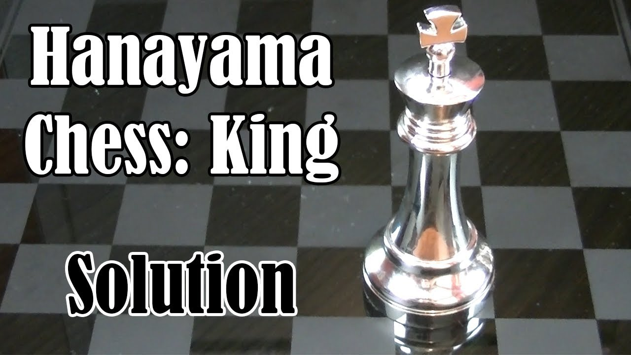 How to Solve Hanayama Chess King (From BePuzzled)