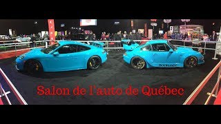 Salon de l'auto de Québec 2018 + BONUS