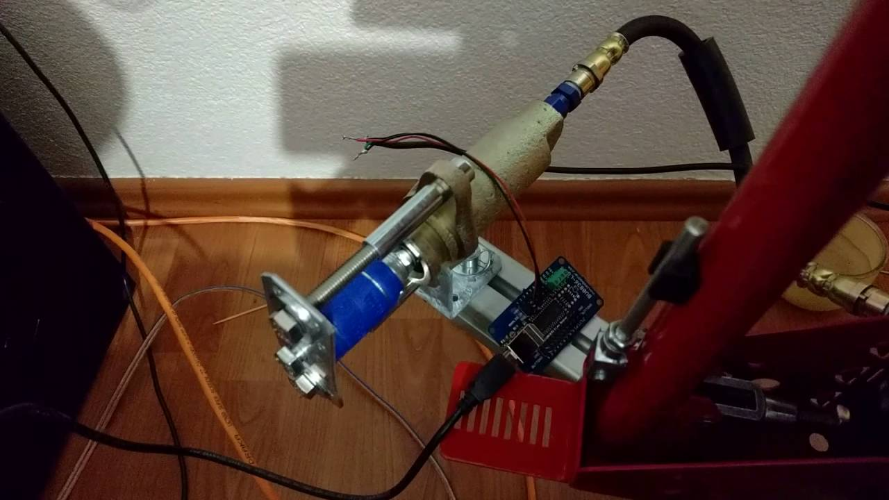 DIY - Low cost slave cylinder for hydraulic Brake/Handbrake