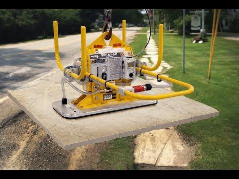 ANVER Powered Vacuum Lifting Equipment Enables Handling Heavy Stone Slabs In Onsite Masonry Work